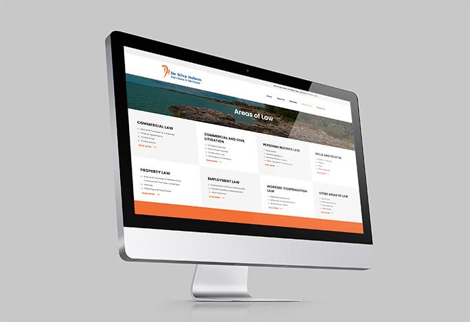 De Silva Hebron Website