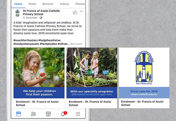 St Francis of Assisi Catholic Primary School Social Media Marketing